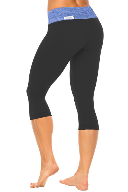 Sport Band 3/4 Leggings - Butter Accent on Supplex