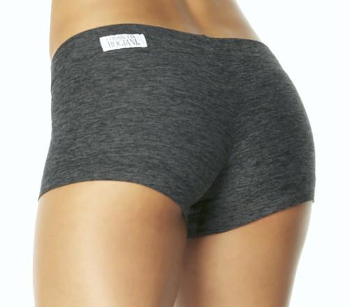 "Butter Buti Lowrise Mini Shorts - FINAL SALE - SMALL- DARK BLACK - 1.75"" INSEAM (1 AVAILABLE)"