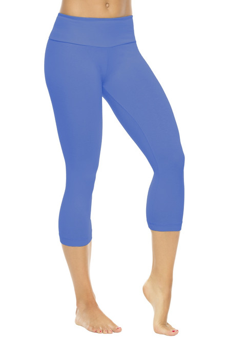 Sport Band 3/4 Leggings - Supplex  - FINAL SALE - Malibu - Large