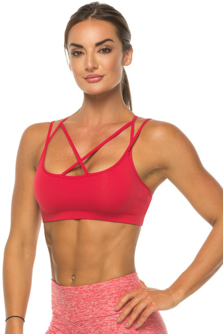 Maya Strappy Bra - Supplex