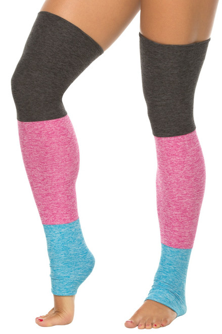 Tri Butter Color Legwarmers