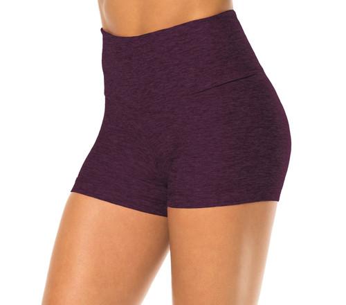 Double Weight Butter High Waist Shorts-H