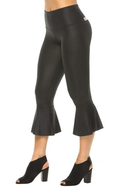 Lolita Flare Cropped WET Leggings