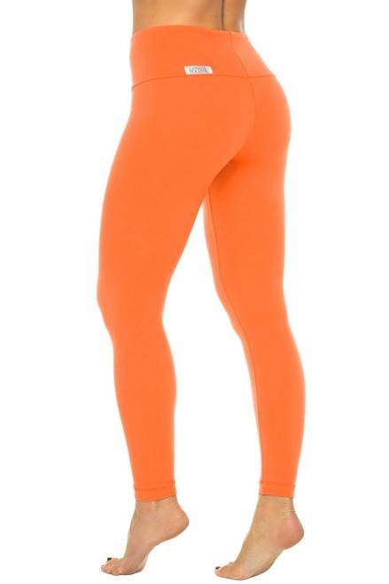 High Waist Leggings - Stretch Cotton
