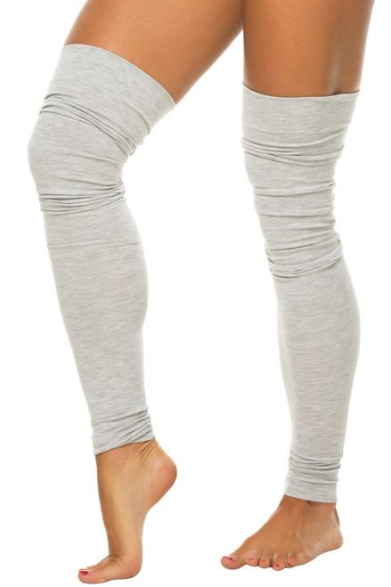 Stretch Cotton Leg Warmers