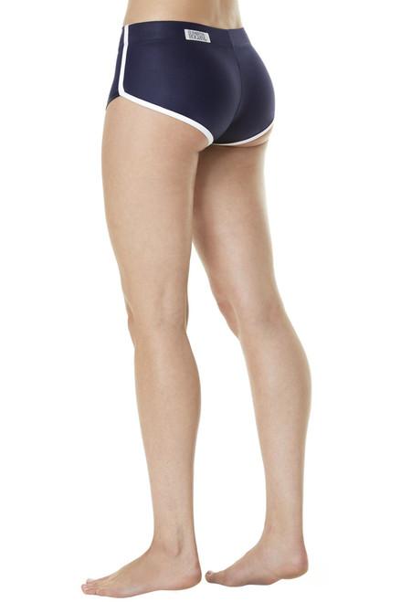 Retro Shorts - Wet w/ Supplex Piping