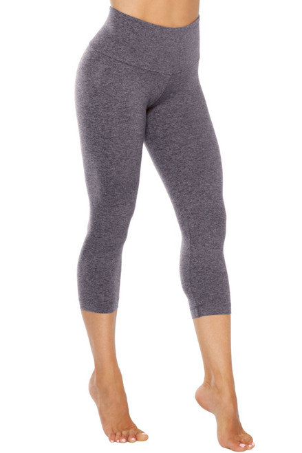 High Waist 3/4 Leggings - Double Weight Butter