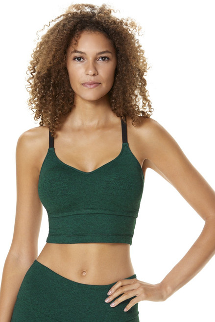 Willow Crop Top - Supplex accent on Double Weight Butter