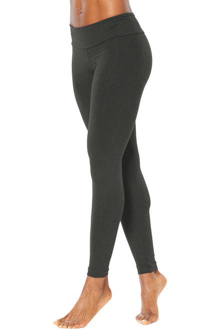 "Sport Band Leggings - MARS GRAY- FINAL SALE- TALL INSEAM 31""- MEDIUM (1 AVAILABLE))"