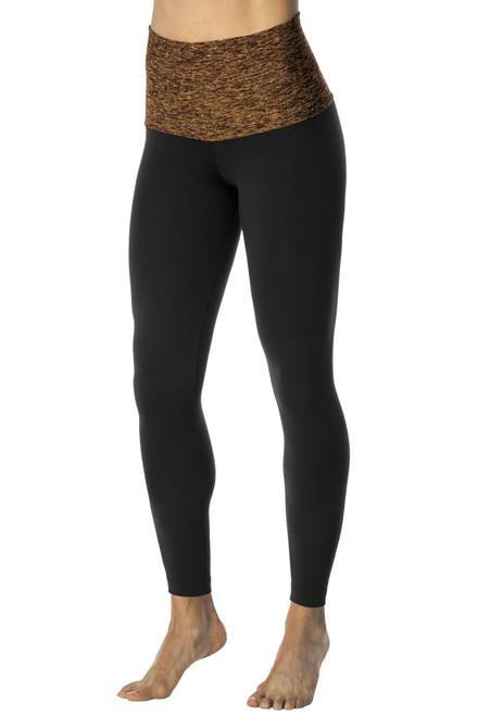 Rolldown Leggings - Butter Accent on Supplex