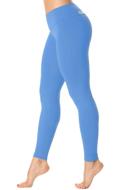 Sport Band Leggings - Solid Color Supplex
