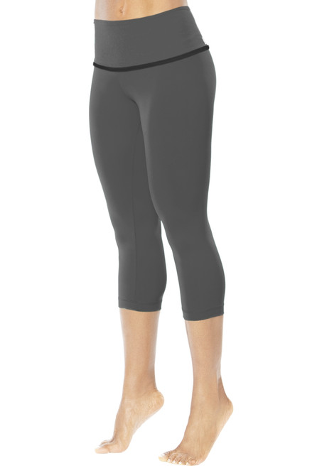 High Waist Halo 3/4 Leggings - Supplex
