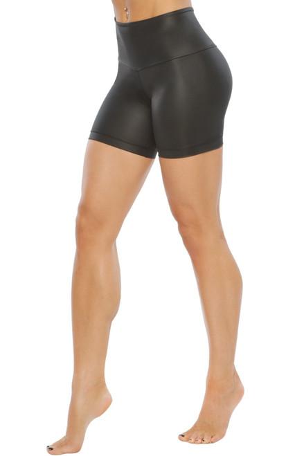 Cobra Bike High Waist Shorts -  Wet