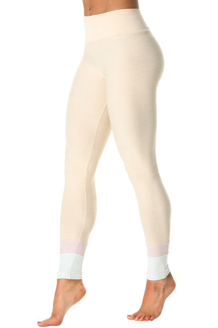 Roshi High Waist Leggings - Butter - Tri-Color