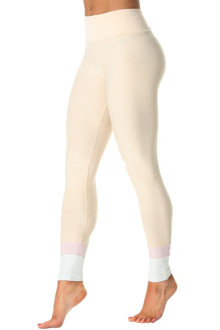 Roshi High Waist Leggings - Butter - Tri-Color