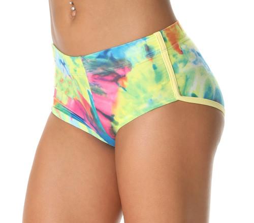 Retro Shorts - Colorforia Print