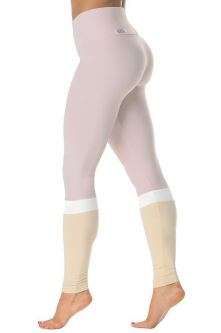 Salia High Waist Leggings - Butter - Tri-Color