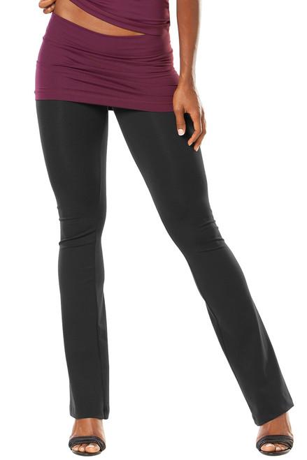 Transformable Skirt Bootleg Pants- Supplex