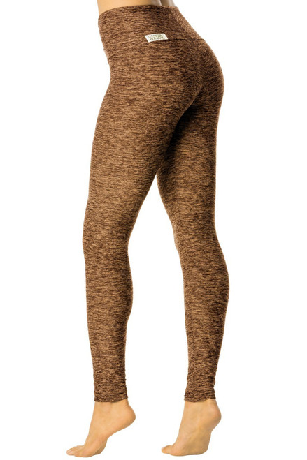 "Butter High Waist Leggings - FINAL SALE - BUTTER KHAKI - XSMALL- inseam 26"" (1 AVAILABLE)"