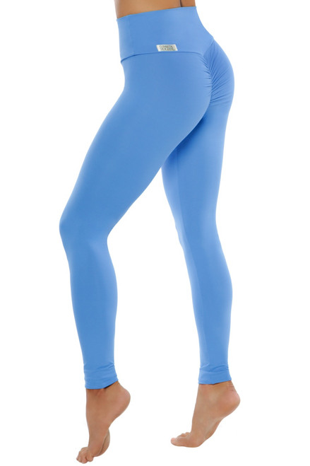 Bambola Scrunch Back High Waist Leggings - Solid Supplex