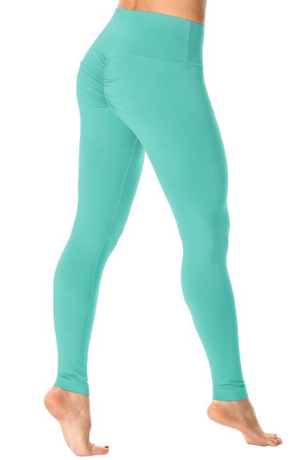 Bambola Scrunch Back High Waist Leggings - Solid Supplex