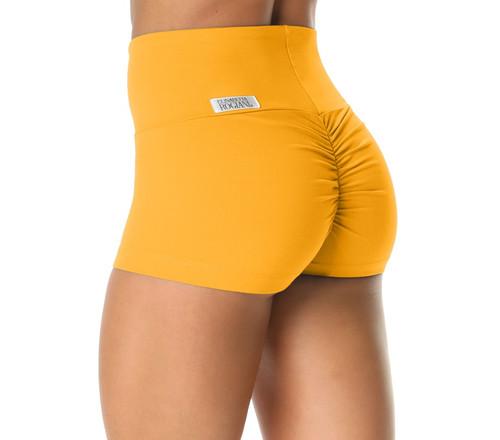 Bambola Scrunch Back High Waist Shorts - Supplex - Custom