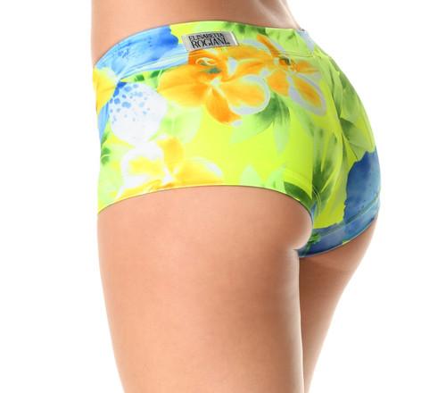 Buti Lowrise Mini Shorts - Limited Edition - Liquid Flowers