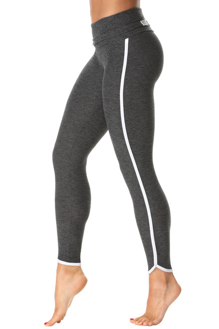 Rolldown St. Tropez Leggings - 7/8 Length - Butter