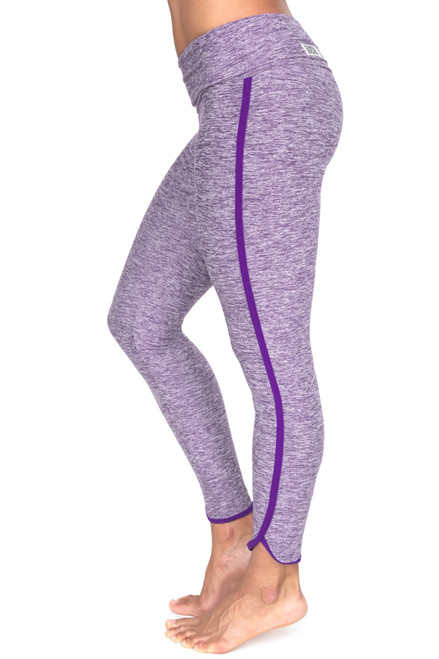 St. Tropez Rolldown 7/8 Length Leggings - Butter