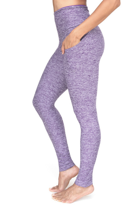 Calypso Pocket High Waist Leggings - Butter