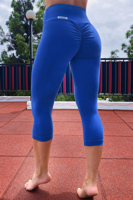 Bambola Scrunch Back High Waist 3/4 Leggings- Supplex