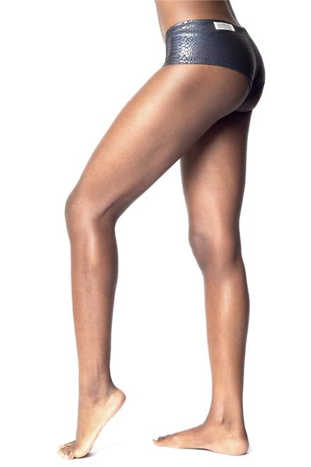 Glossy Python King Shorts