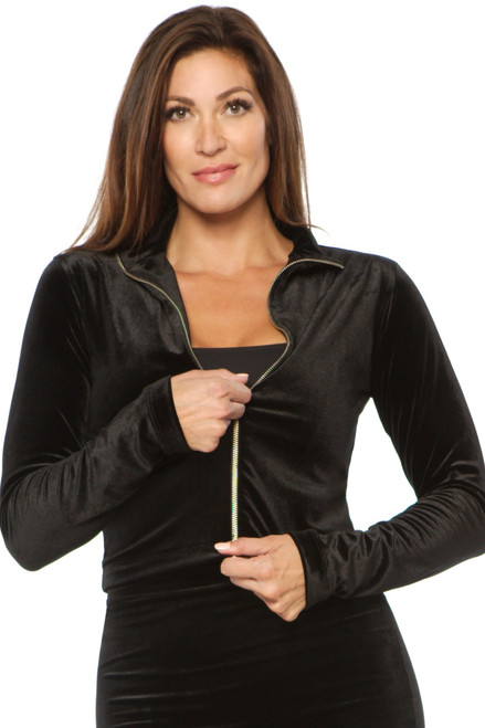 Cleo Jacket - Stretch Velvet