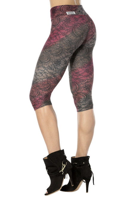Sport Band 3/4 Leggings - Venice