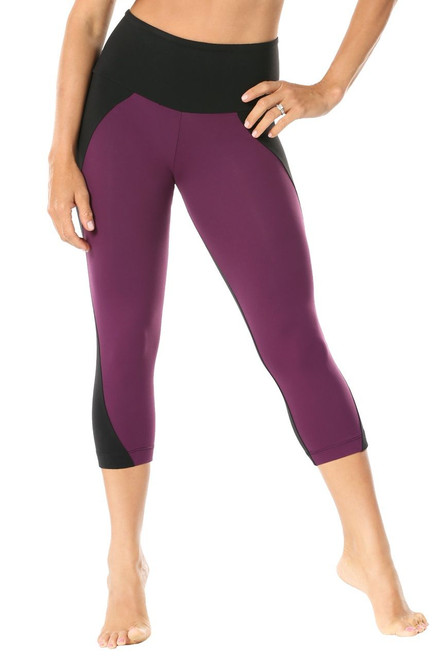 Amidala  High Waist 3/4 Leggings - Supplex