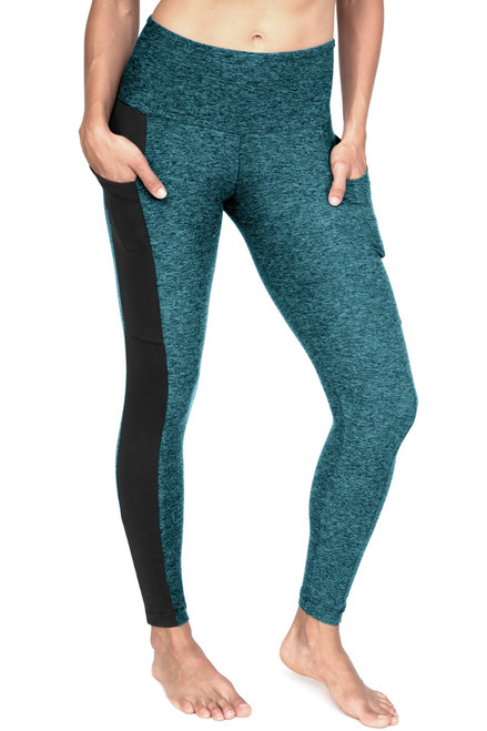 Kiko High Waist Double Pocket Leggings - Butter w/ Supplex Accent