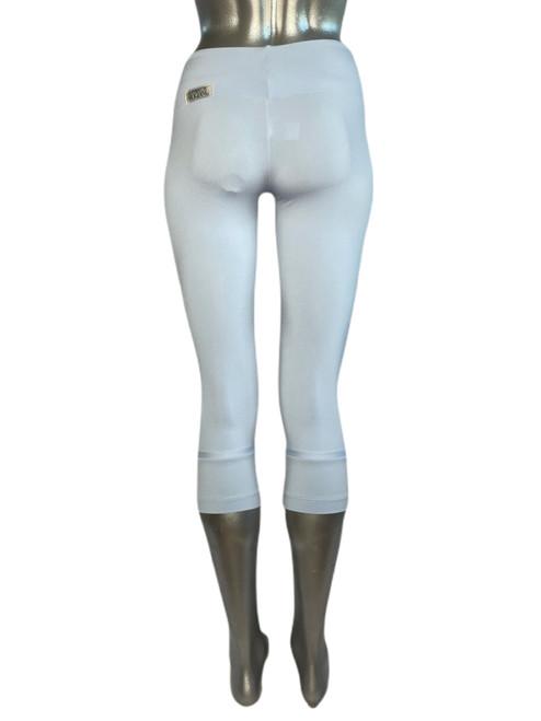 Sport Band Modella Cuff 3/4 Leggings - Supplex - Lt Blue - Final Sale - Small 20 Inseam  (1 Available)
