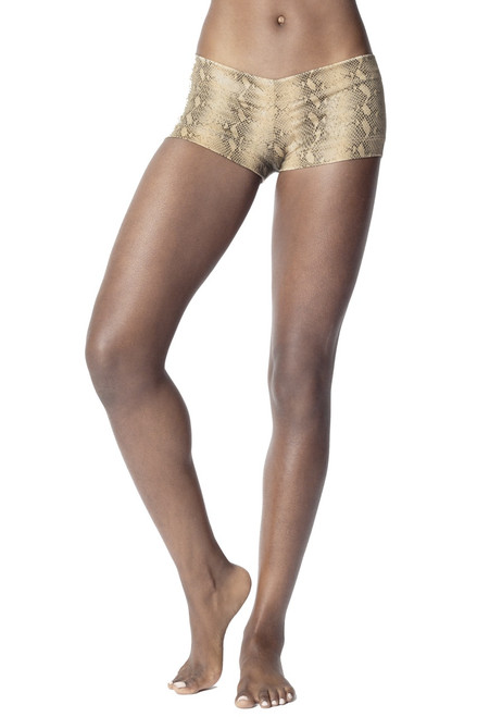 Serpent Buti Lowrise Mini Shorts