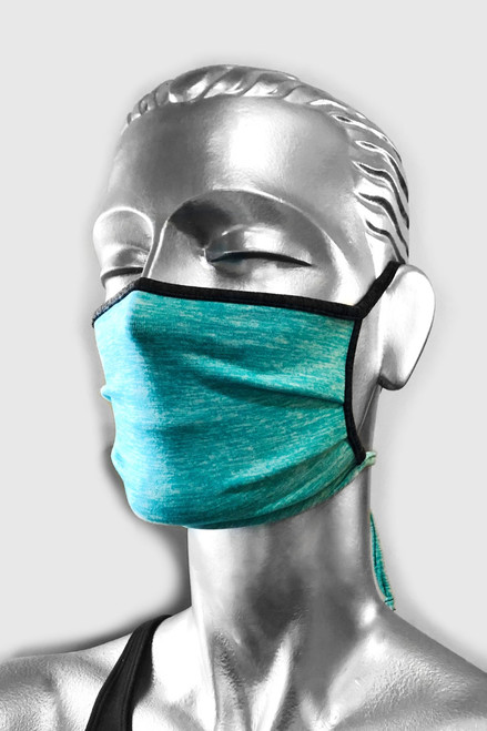 NON-MEDICAL  Pleated Face Cover with Adjustable Ties - Double Layer Dual Butter Soft - Reversible
