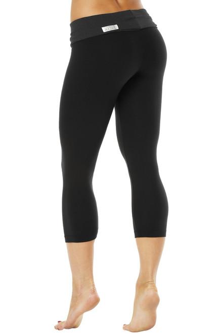 Rolldown 3/4 Leggings - Stretch Cotton