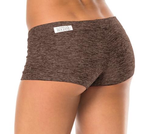 "Buti Lowrise Mini Shorts - FINAL SALE - Butter Khaki - Small - 2.75"" Inseam"