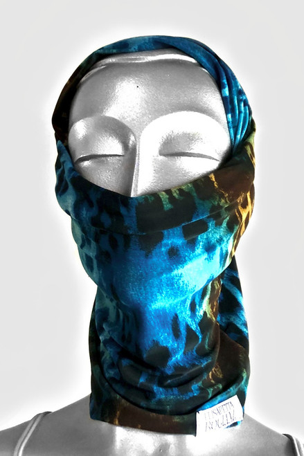 NON-MEDICAL Transformable Tube Scarf - Tiger
