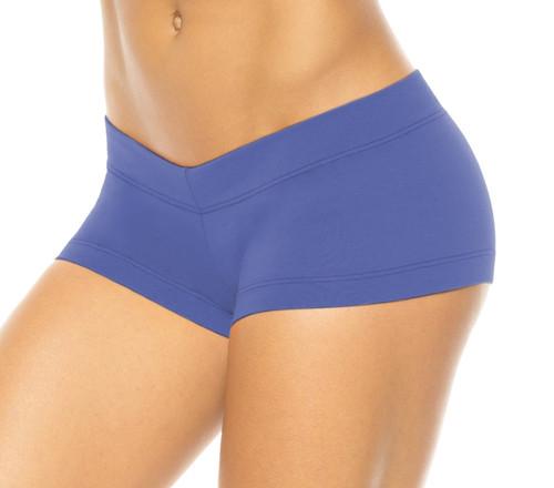 Lowrise Mini Shorts - Supplex - Malibu - Final Sale - Small  2.75' Inseam