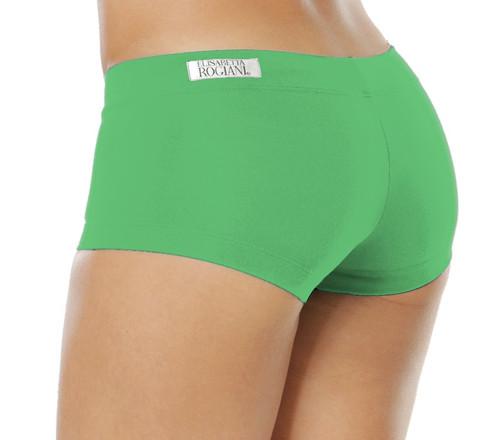"Buti Lowrise Mini Shorts - Supplex - Emerald - Final Sale - Small - 2.75"" Inseam"