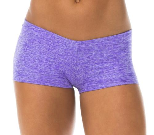 "Butter Buti Lowrise Mini Shorts - Violet - Final Sale - Small - 2.75"" Inseam"