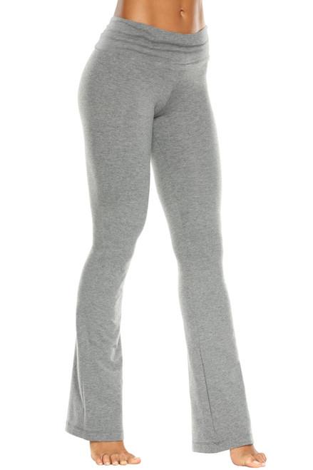 Rolldown Bootleg Pants - Stretch Cotton