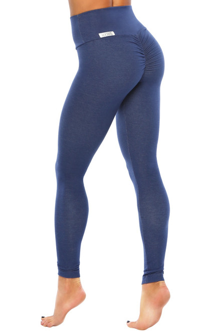 Bambola Scrunch Back High Waist Leggings - Stretch Cotton
