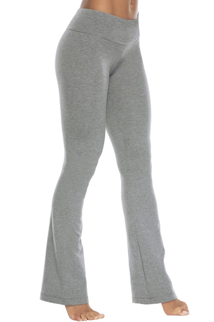 Sport Band Bootleg Pants - Stretch Cotton