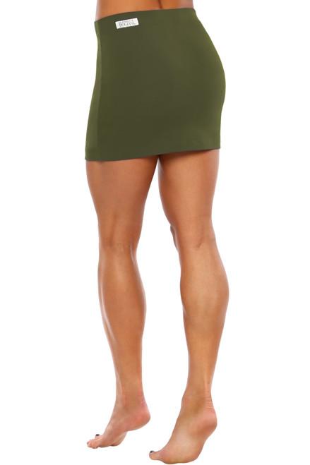 Bodycon Mini Skirt - Supplex