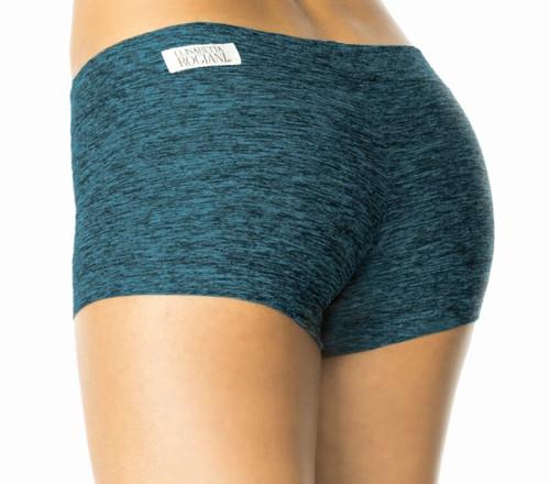 "Buti Lowrise MIni Shorts - Butter Turquoise - Final Sale - Medium - 2.5"" Inseam"